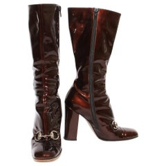 Gucci Patent Boots (Tom Ford) F/W 1995 Collection