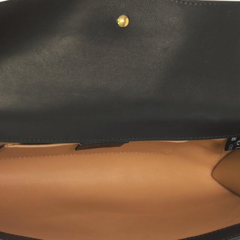 Gucci Pearly GG Marmont Clutch Leather For Sale 1