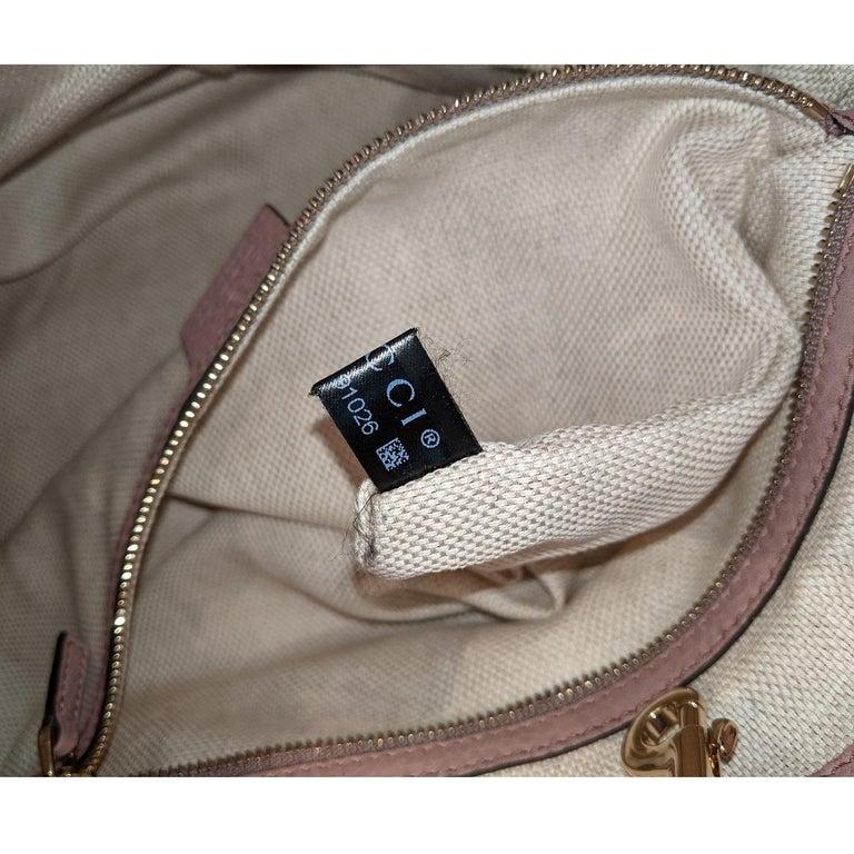 Gucci Pebbled Calfskin Medium Soho Chain Shoulder Bag For Sale 4