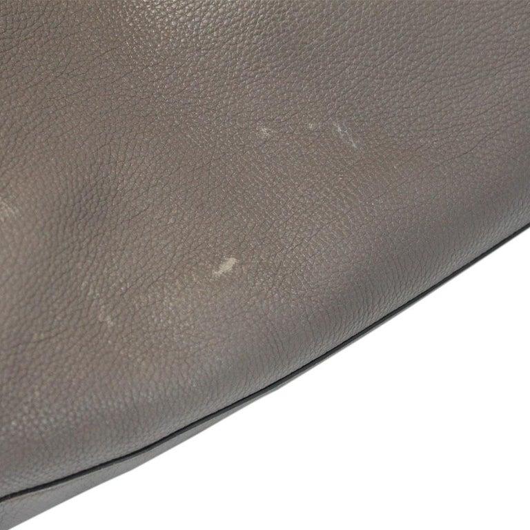 Women's Gucci Pebbled Leather Large Brown Handbag And Shoulder Bag For Sale