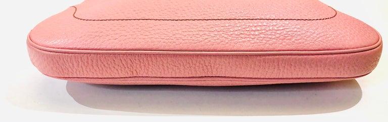 Women's or Men's Gucci Pink Leather Jackie 1961 Hobo Shoulder Bag  For Sale