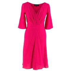 Gucci Pink Silk Dress Wrap Style Dress - Size US 0-2