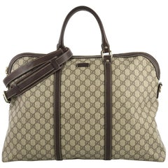 Gucci Plus Convertible Briefcase GG Coated Canvas XL