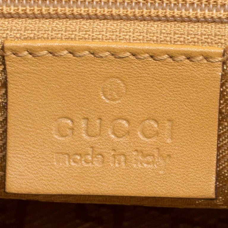 11794d33c Gucci Purple/Tan Suede and Leather Tiger Charm Shoulder Bag For Sale 4