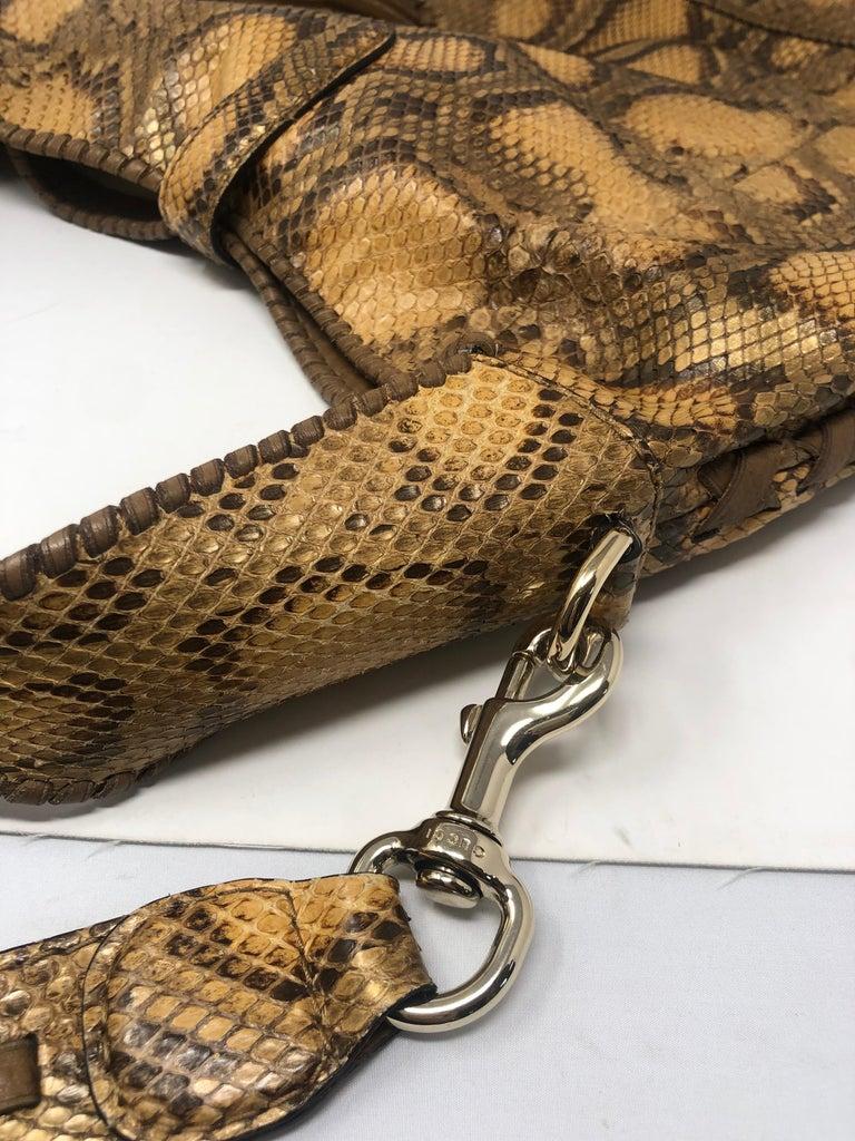 Gucci Python Hobo Bag  For Sale 5