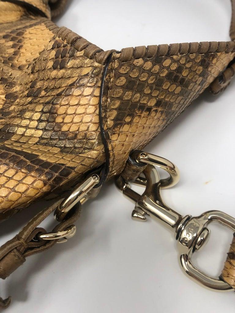 Gucci Python Hobo Bag  For Sale 1