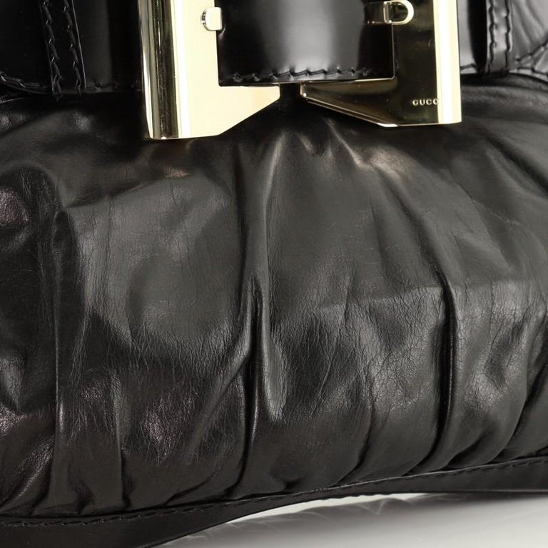 Gucci  Queen Hobo Leather Medium For Sale 2