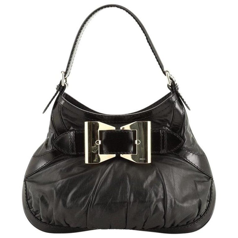 Gucci  Queen Hobo Leather Medium For Sale