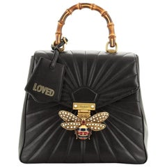 Gucci Queen Margaret Backpack Quilted Leather Small