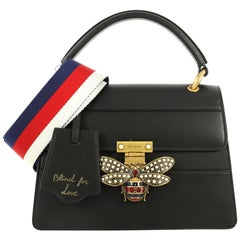 Gucci Queen Margaret Top Handle Bag Leather Small