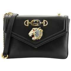 Gucci Rajah Chain Shoulder Bag Leather Small