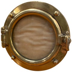Gucci Rare Round Picture Frame, Italy, 1970