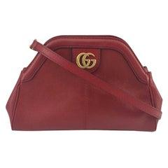 GUCCI Rebelle Shoulder bag in Red Leather