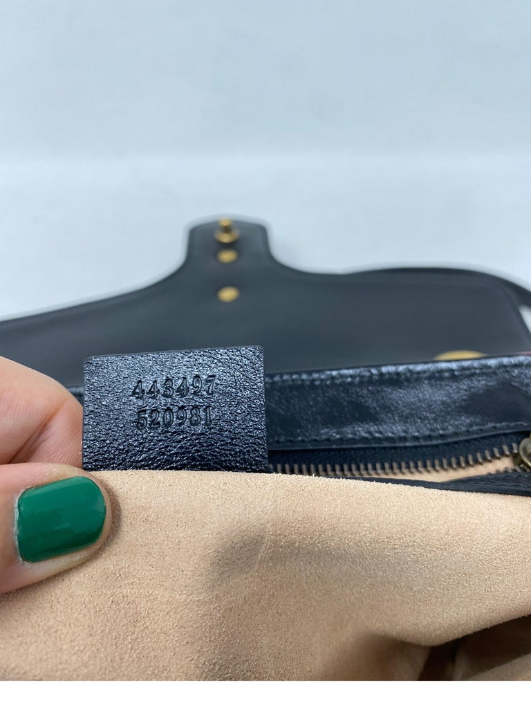Gucci Red and Black Marmont Bag  For Sale 15