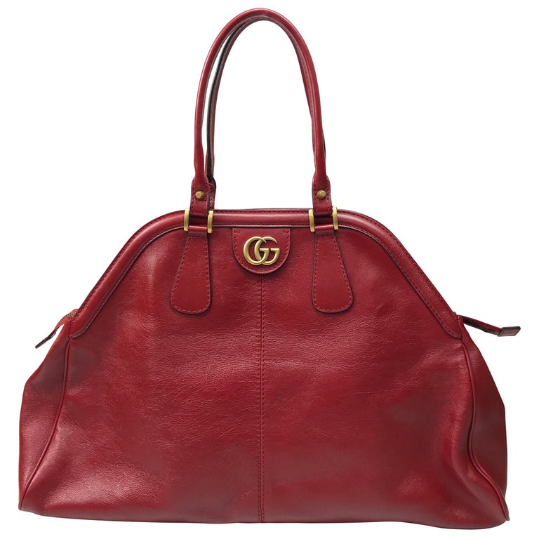 Gucci Red Marmont Re(Belle) Handbag For Sale