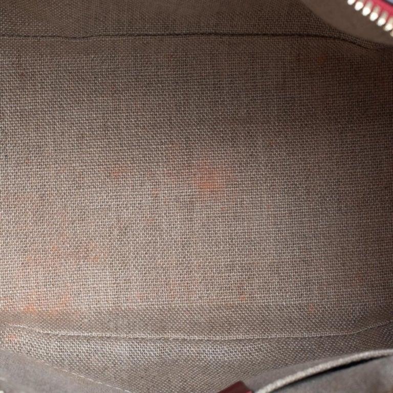 Gucci Red Microguccissima Leather Mini Dome Bag For Sale 5