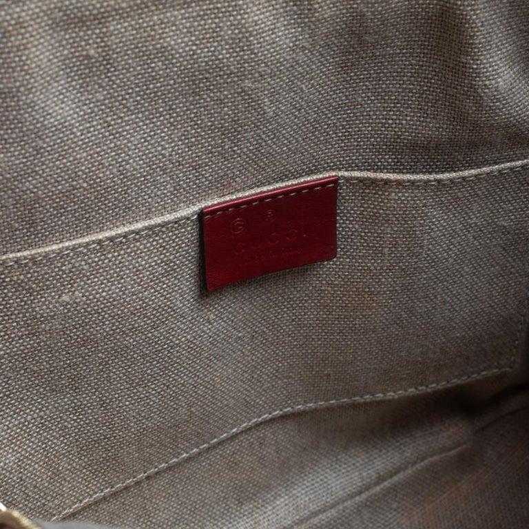 Gucci Red Microguccissima Leather Mini Dome Bag For Sale 7