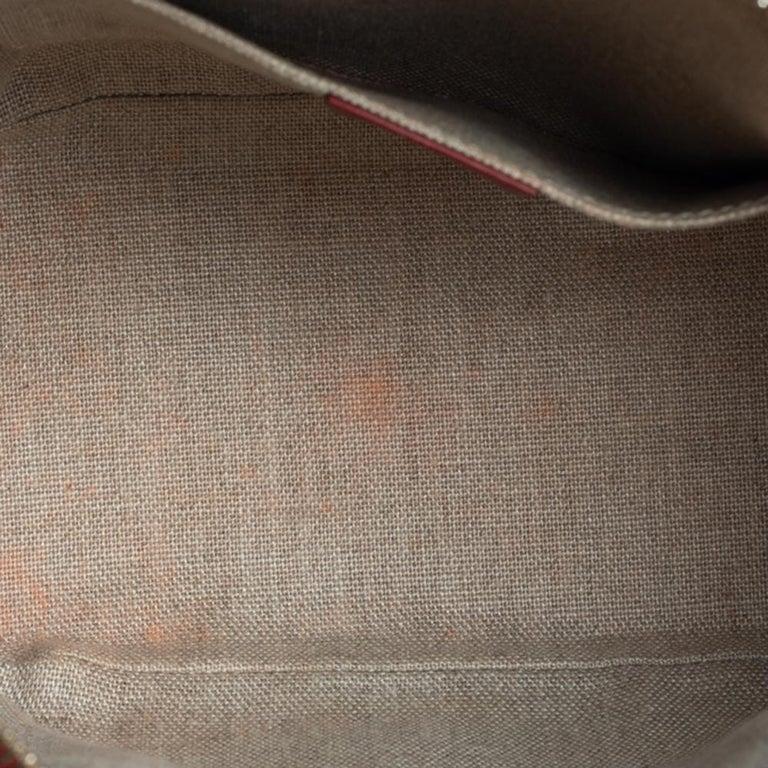 Gucci Red Microguccissima Leather Mini Dome Bag For Sale 3