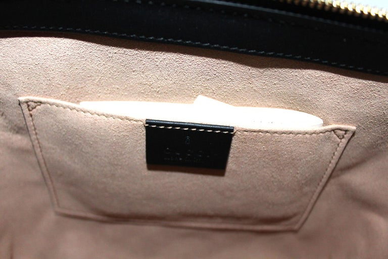 Gucci Red Suede Bag For Sale 3
