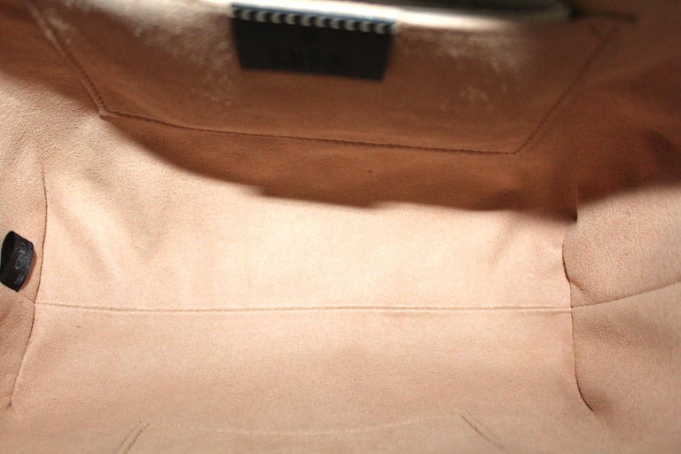 Gucci Red Suede Bag For Sale 4
