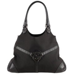 Gucci Reins Hobo Bag Tote GG Logo