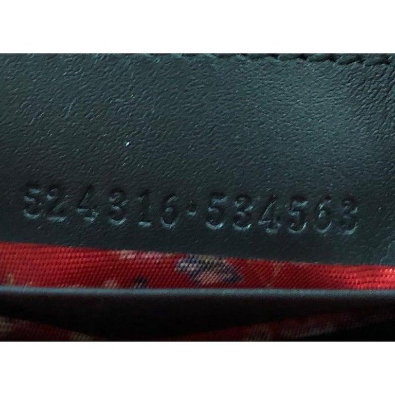 Gucci Retro Logo Wristlet Pouch Patent For Sale 2