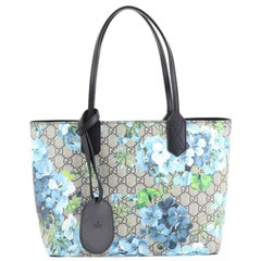 Gucci Reversible Tote Blooms GG Print Leather Small