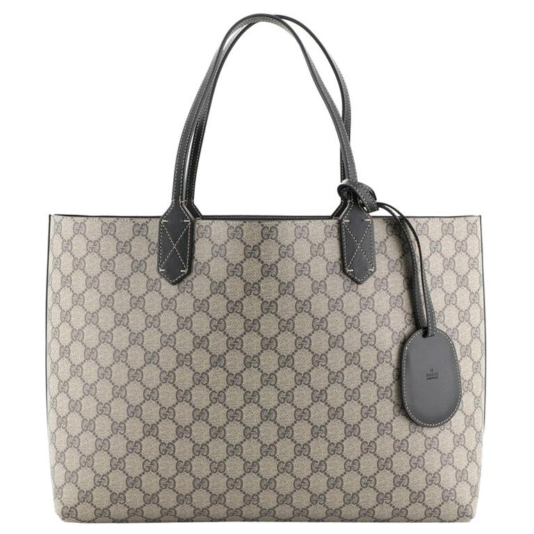 Gucci Reversible Tote GG Print Leather Large