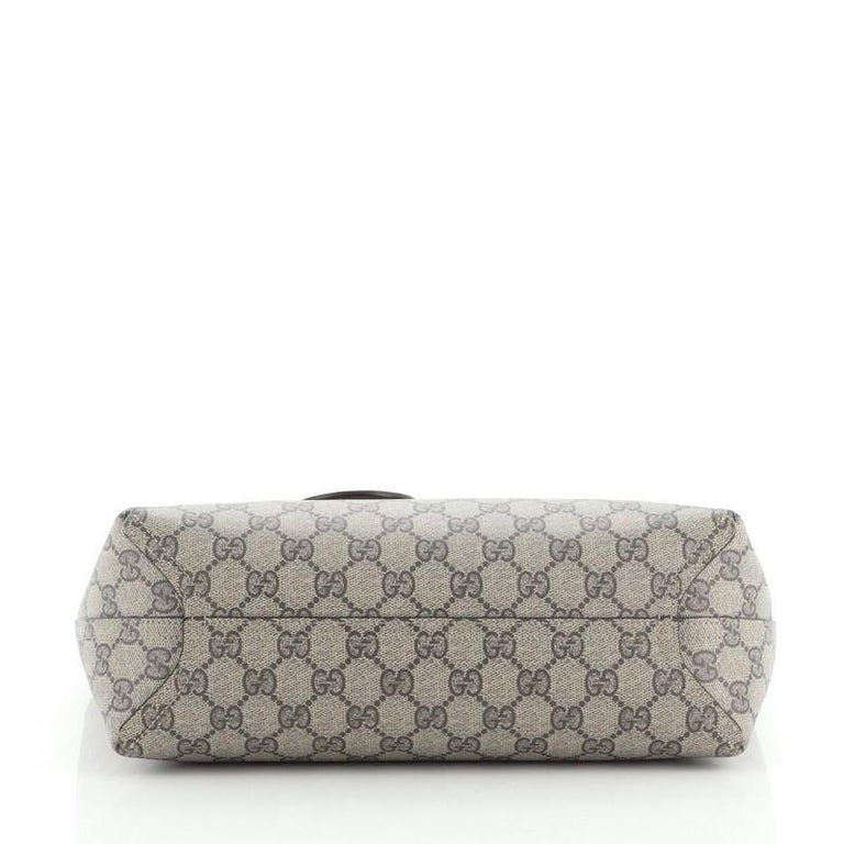Women's or Men's Gucci Reversible Tote GG Print Leather Small For Sale
