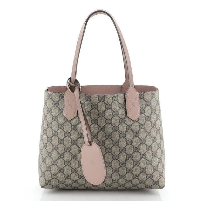 Gucci Reversible Tote GG Print Leather Small 3