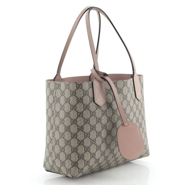 Gucci Reversible Tote GG Print Leather Small 4