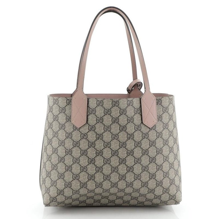 Gucci Reversible Tote GG Print Leather Small 5