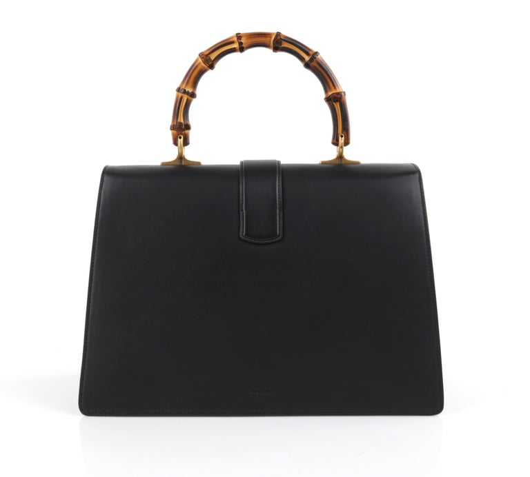 """GUCCI S/S 2016 """"Dionysus"""" Large Green Red Black Stripe Bamboo Top Handle Bag NWB For Sale 1"""