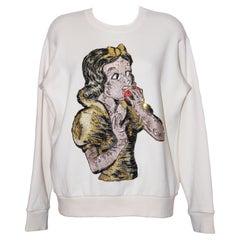 Gucci Sequin Snow White Sweatshirt
