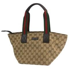 GUCCI Shelly Womens handbag 131228 beige x brown