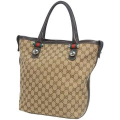 GUCCI Shelly Womens tote bag 232970 beige x brown