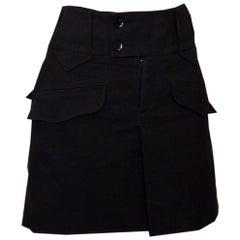 Gucci Short Black Skirt