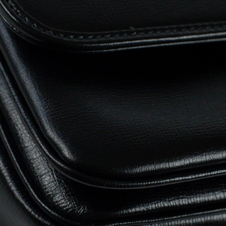GUCCI Shoulder bag in Black Leather For Sale 7
