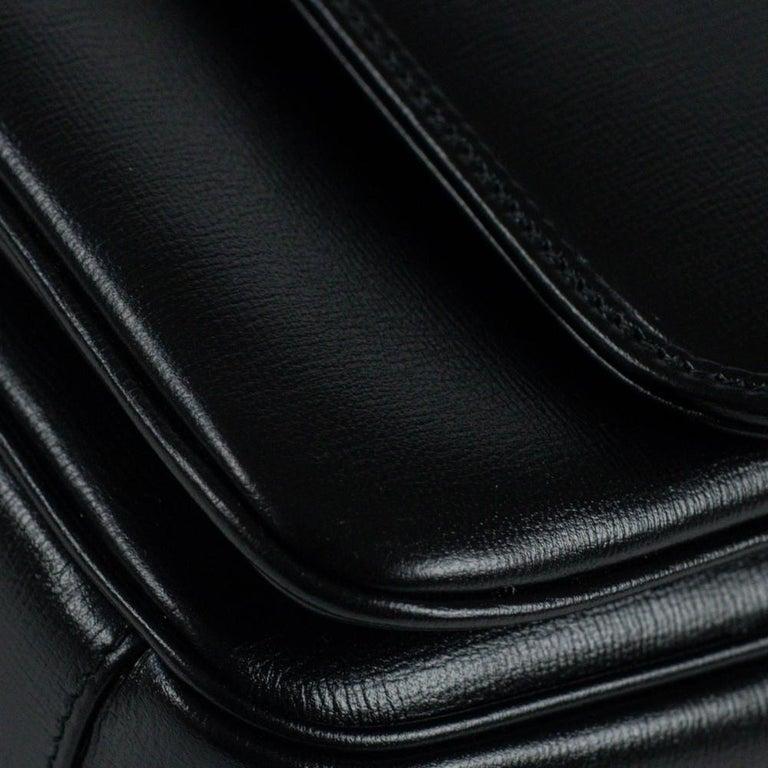 GUCCI Shoulder bag in Black Leather For Sale 8
