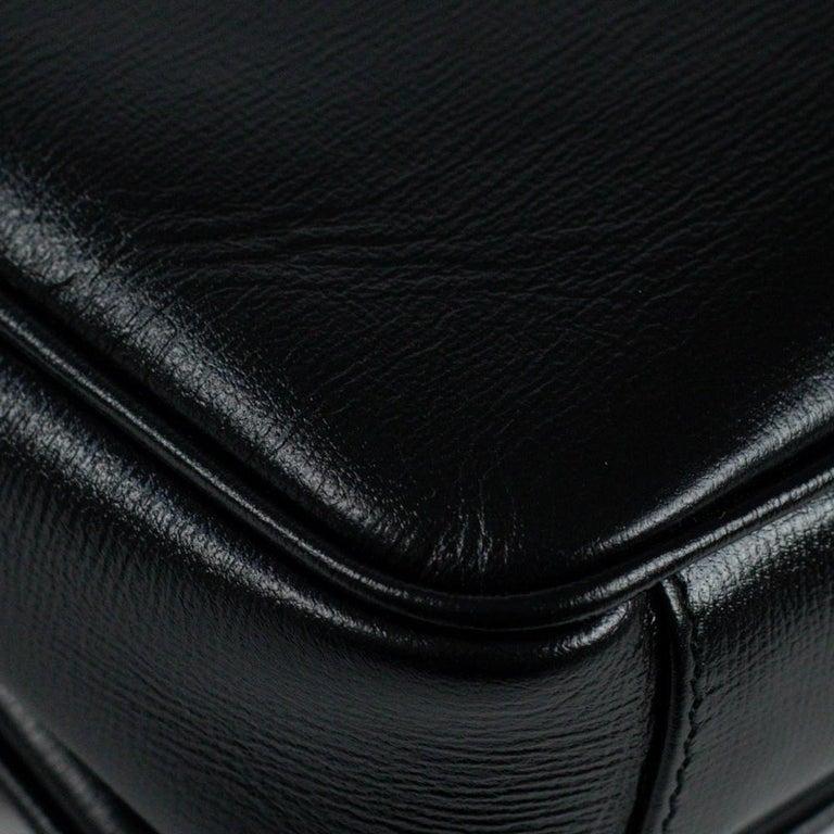 GUCCI Shoulder bag in Black Leather For Sale 9