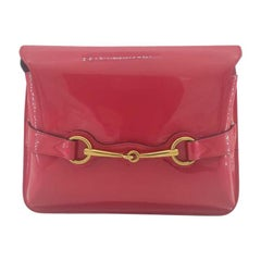 GUCCI Shoulder bag in Pink Patent leather