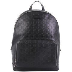 Gucci Signature Pocket Backpack Guccissima Leather Large