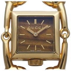 GUCCI Signoria quartz Womens watch YA116506 116.5 gold