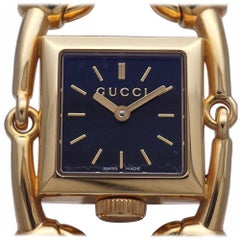 GUCCI Signoria quartz Womens watch YA116507 116.5 gold