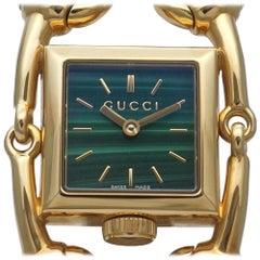 GUCCI Signoria quartz Womens watch YA116508 116.5 gold