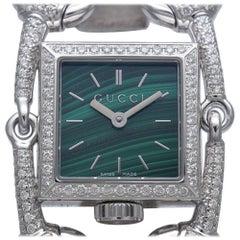 GUCCI Signoria quartz Womens watch YA116510 116.5 silver