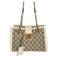 Gucci Small GG Supreme Padlock Shoulder Bag
