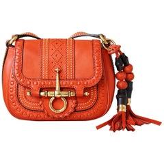 Gucci Snaffle Bit Leather Shoulder Bag