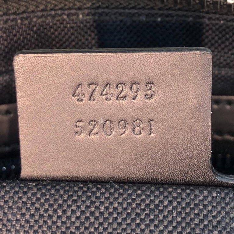 Gucci Soft Zip Belt Bag GG Coated Canvas Small For Sale 3