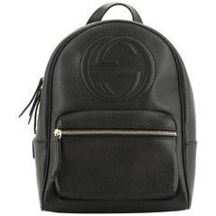 Gucci Soho Chain Backpack Leather